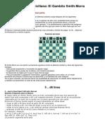 Defesa Siciliana - O Gambito Smith-Morra