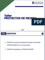 Proyecto de Mejora Pasos 1-2