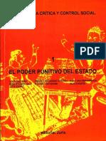 006.- Criminologia Critica Y Control Social El Poder Punitivo Del Estado - Zaffaroni, Christie, Y.pdf