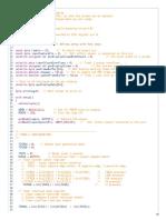 main code