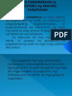 Mga Pamamaraan Sa Pagtuturo Ng Araling Panlipunan-sir Roy