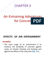 Air-Entraining Admixtures for Concrete 11