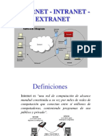 Internet - Intranet - Extranet