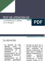 Test de Atencion d2