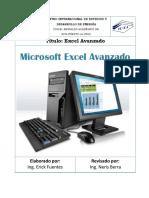 Manual de Excel Avanzado Ciede 01 08 2013 (1)