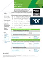VCP NV Program Overview 20AUG2014