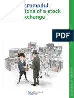 Functions of a Stock Exchange Educational Module