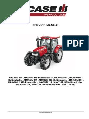 PAIR CASE//IH 5100 SERIES MAXXUM TRACTOR POWERSHIFT DECAL