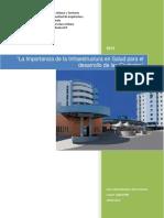 Proyecto Final Infraestructura en Salud BOSQUEJO Carnet 100023995
