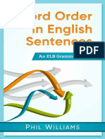 Word Order in English Sentences - Phil Williams