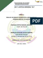 LA MIGRACIÓN DE VENEZOLANOS AL ECUADOR.