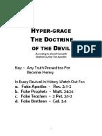 Hyper-Grace - The Doctrine of the Devil