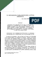 Dialnet-LaMonarquiaParlamentariaActualEspanola-26605