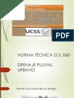 Os-060 Drenaje Pluvial