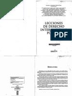 González Napolitano, Silvina, S._Lecciones de Derecho Internacional