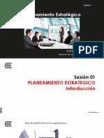 Sesión SEMANA 1 _ Introducción - Planeamiento Estratégico