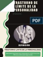Trastorno Límite de La Personalidad