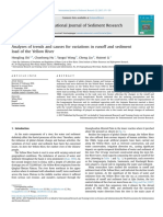 Analyses of Trends and Causes for Variations in Runoff and Sediment