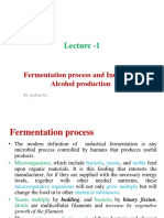 Fermentation and Alcohol Production