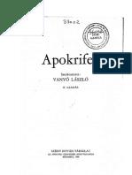Vanyo-LaszloI-Apokrifek