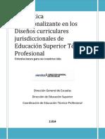 La Practica Profesionalizante en Los Disen Os Curriculares Jurisdiccionales 2