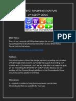 BYOD Implementation Plan