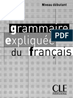grammaire expliquée du français niveau débutant.CLE.pdf