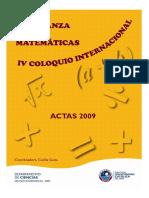 Actas-2009