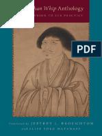 9780190200718.Oxford University Press, Incorporated.chan Whip Anthology_ a Companion to Zen Practice, The.broughton, Jeffrey L., Watanabe, Elise Yoko.nov, 2014