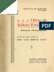 Obras de Isidoro Errazuriz