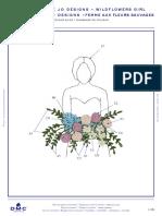 Https Www.dmc.Com Media Dmc Com Patterns PDF PAT0573 Nice Girl Needle Club - Wildflowers GirlPAT0573C
