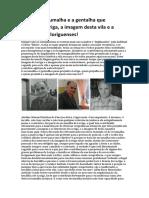 Adelino Pina Fariseu Alemão Escumalha e  Gentalha Que Prejudica Loriga
