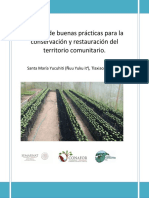 MIA_Manual de Buenas Prácticas Para La Conservación y Restauración Del Territorio Comunitario