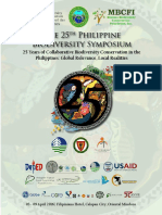 25th Philippine Biodiversity Symposium Program Book
