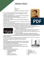 Nikola Tesla Resumen