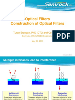 Construction of Optical Filters