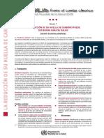reduccion de huella de carbono puede ser bueno para la salud  oms.pdf