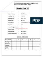 ME 8391 Engineering Thermodynamics  workbook - UNIT 1