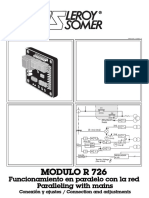 Manual Avr Leroy Somer Mod. r 250_es