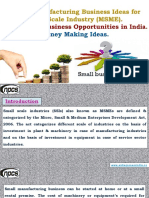 List of Manufacturing Business Ideas for Small Scale Industry (MSME). Small Scale Business Opportunities in India. Money Making Ideas.-710390