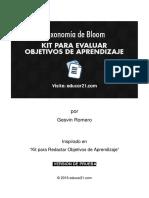 KitEvaluarObjetivosAprendizaje Imprimibles Ver1.0 Educar21 Prueba