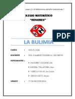 BULIMIA Psicologia