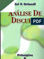 Orlandi, Análise de discurso.pdf