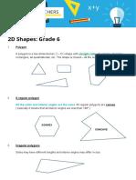 Basic Maths Grade6 2D Shapes