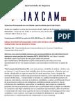Oportunidade de Negócios - Maxcam Rh
