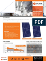 Artsolar Technical Datasheet 2018 Web Current