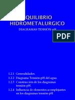 Cap 1 Equilibrio Hidrometalurgico (Especiación)