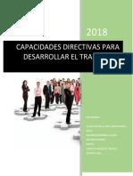 Trabajo en Equipo Capacidades Directivas Para Desarrollar Trabajo en Equipo