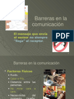 5 Barreras de La Comunicación.