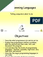 1 Programming Languages